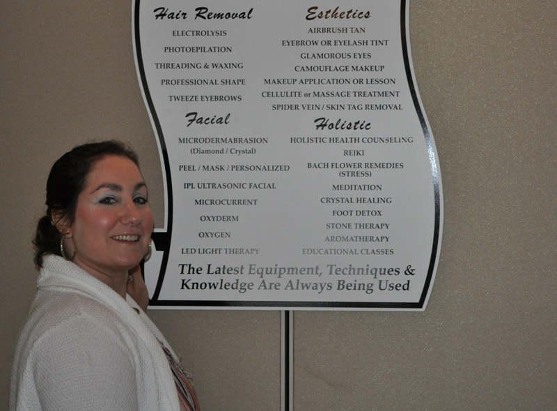 Marina DiStefano offers a wide menu of services at her Great Kills medi-spa, Marina's Advanced Skincare.