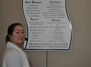 Marina DiStefano offers a wide menu of holistic services at her Staten Island, N.Y., medi-spa, Marina's Advanced Skincare.
